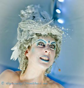 Ice Queen (opera, monologue, costume); Photographer: Diane Smithers